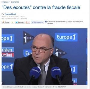 des écoutes fraude fiscale