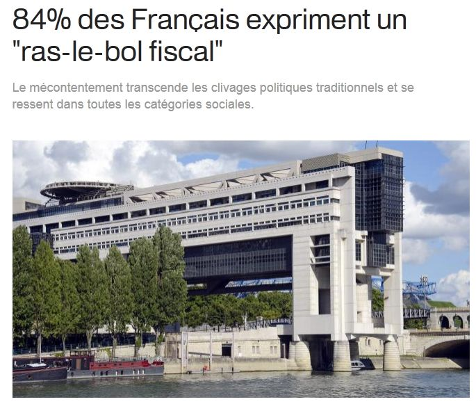 Ral le bol fiscal des français