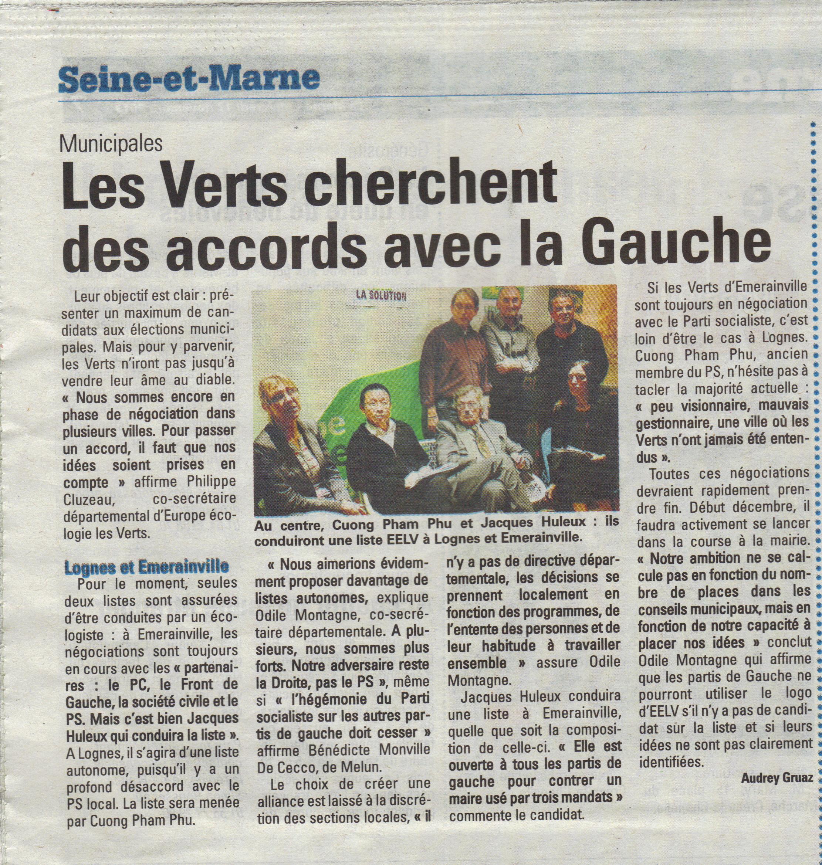 La Marne mercredi 13 novembre 2013