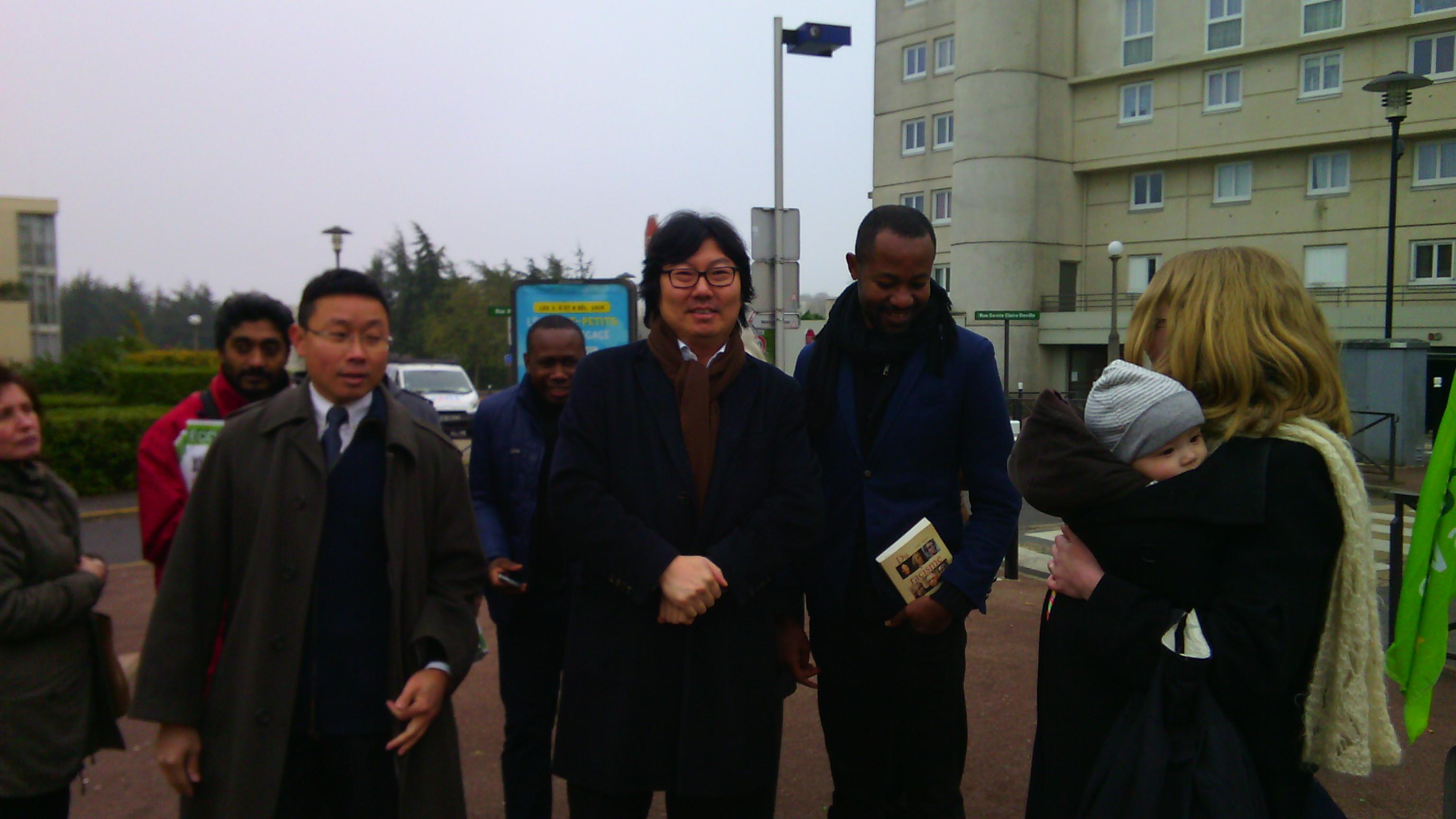 Cuong PHAM PHU et Jean-Vincent Placé à Lognes
