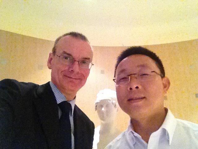 Cuong PHAM PHU Et le Premier conseiller de l'Ambassade de France au Vietnam
