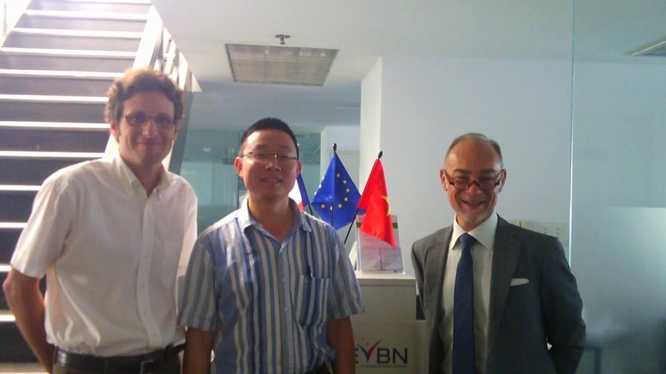 Guillaume Crouzet, Dir Général et Pdt du Chambre du commerce au Vietnam