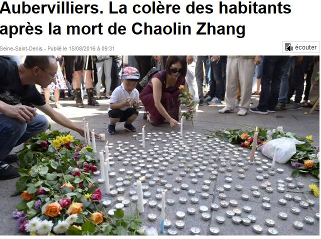 victime chinoise